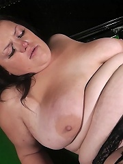 Irresistible young fattie seduces a married guy and his wife catches him