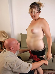 Sweet chubby gets her pussy pounded